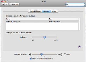 adjusting mac audio balance