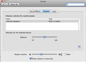 adjusting mac audio balance