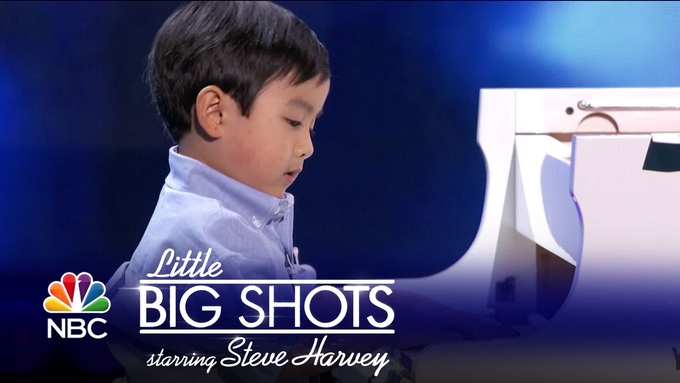 Little Big Shots 4-year-old Pianist