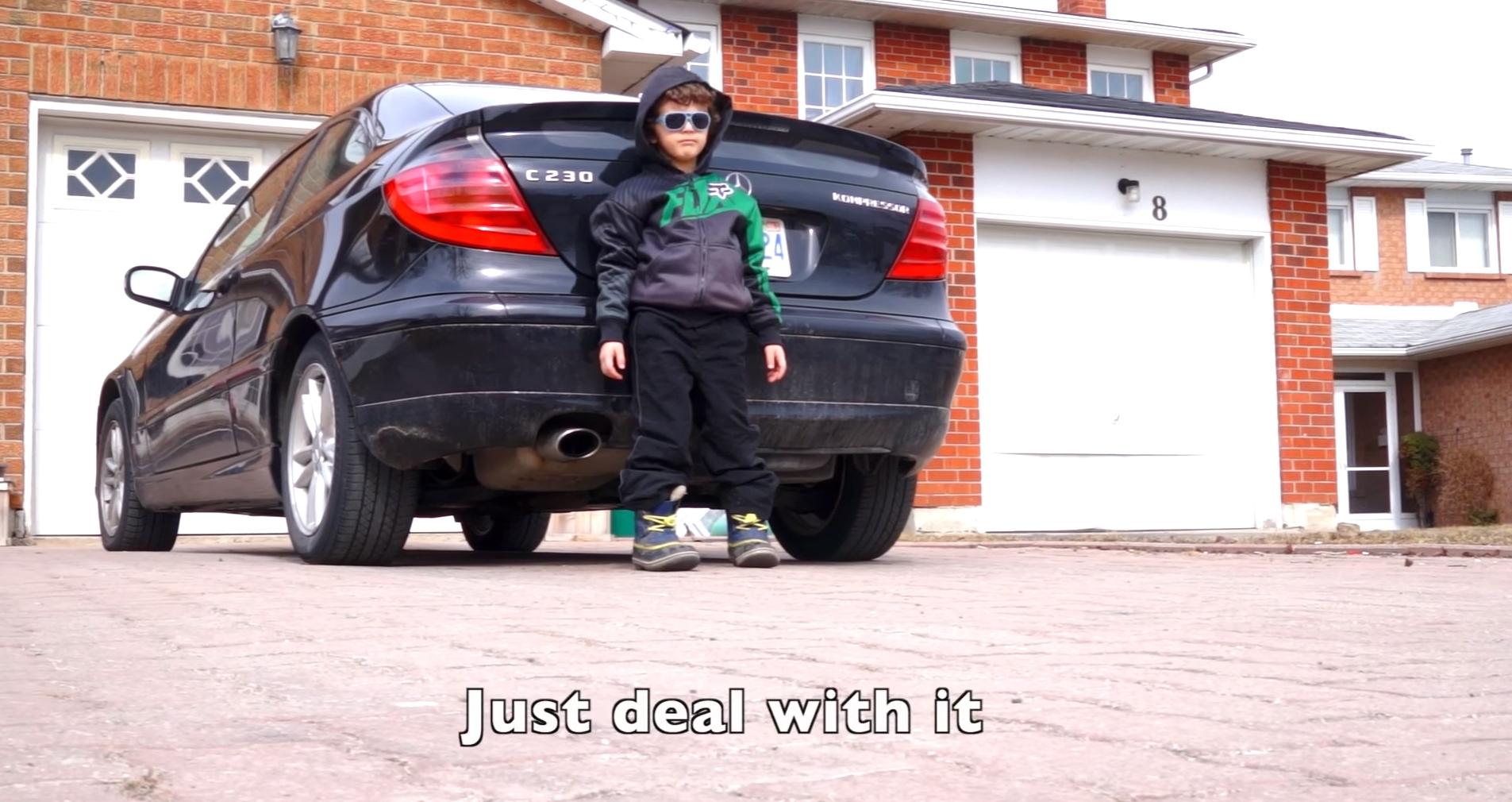 5-Year-Old Jordan Raps