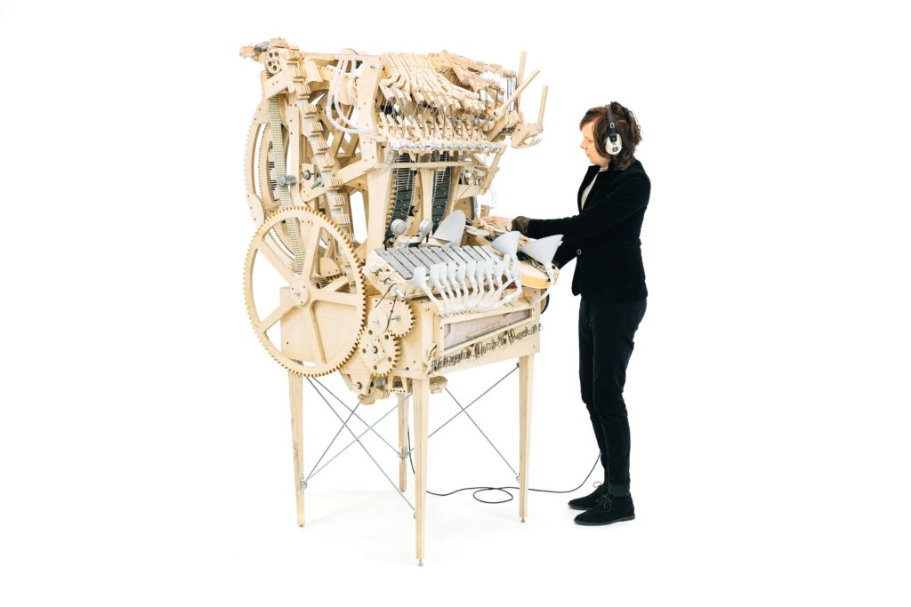 Wintergatan Marble Machine and Martin