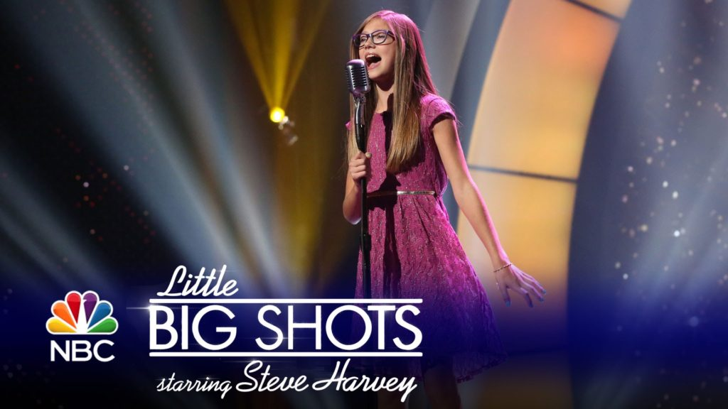 Little Big Shots Croatian Teen Singer
