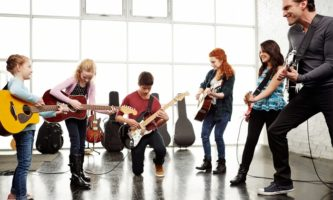 Small Group Music Lessons at Open School