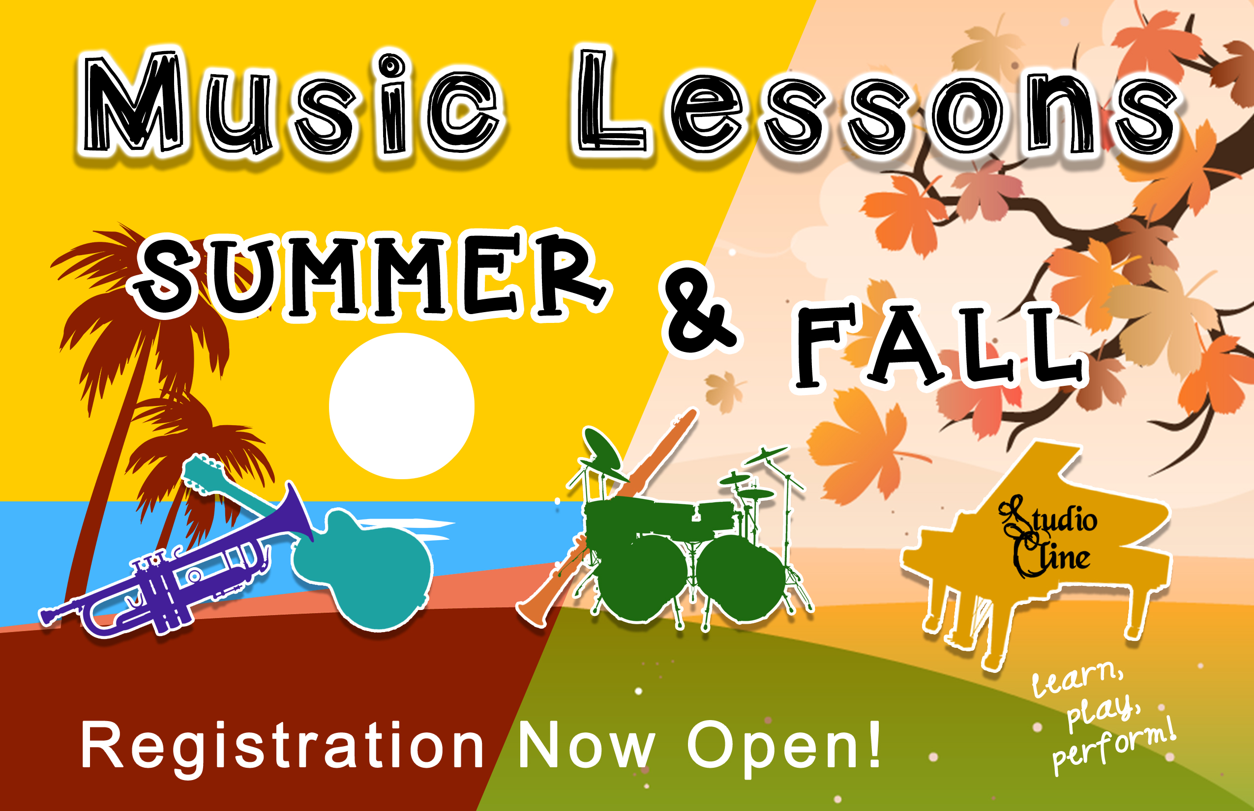 Sign Up Now for Summer & Fall Music Lessons!