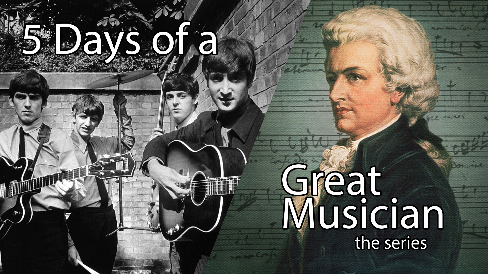 5 Days of a Great Musician: An Introduction to Featured Musicians on this Site