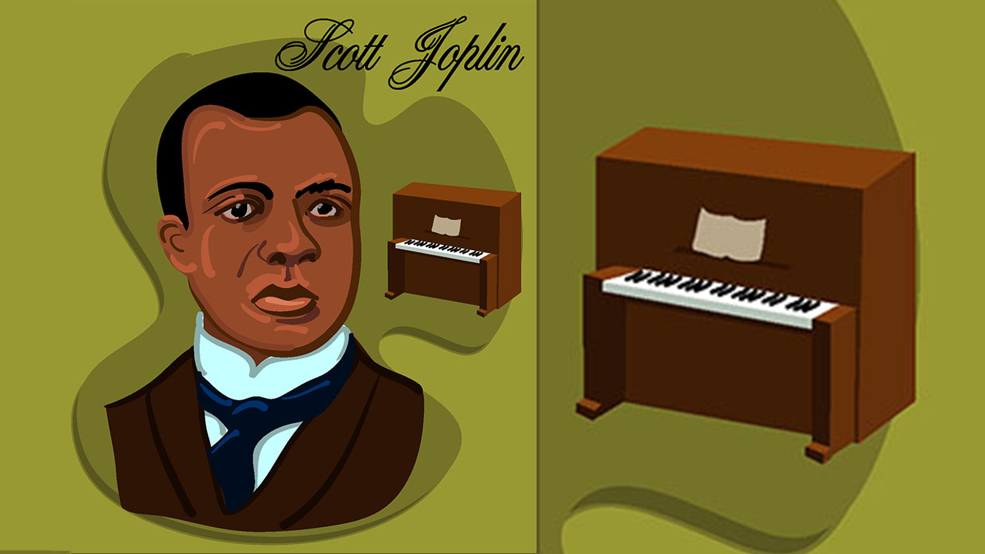 5 Days of Scott Joplin: Day 5, Best of Scott Joplin Playlist & a Fun Scott Joplin Word Search