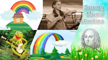 Spring Music Activity Collection: All Sing Alongs & Play Alongs