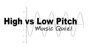 High or Low Pitch: A Fun Quiz on Sound Waves in Music